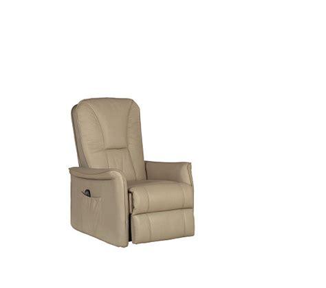fauteuil relax 233 lectrique celeste cuir pvc taupe