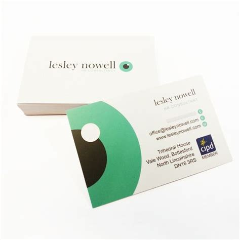 lesley nowell hr consultant business cards  images