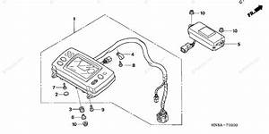 Honda Atv 2007 Oem Parts Diagram For Meter