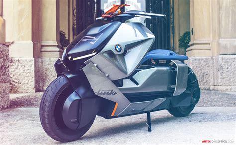 bmw motorrad reveals futuristic  emission bike concept