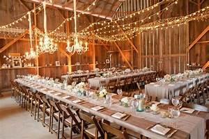 asheville celebrity djs With barn wedding lighting ideas