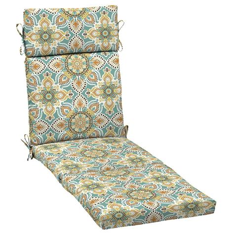 teal moroccan outdoor patio chair chaise lounge cushion