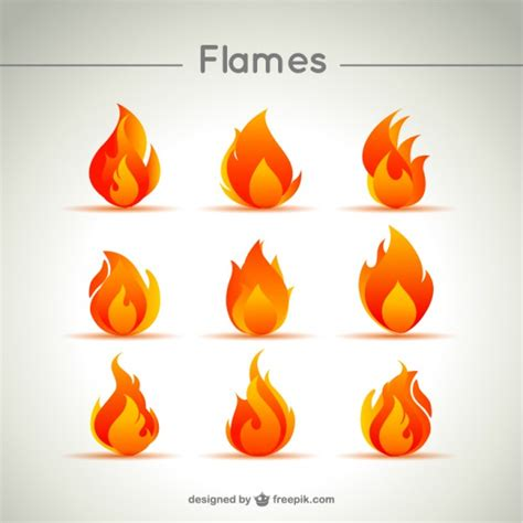 Vector Flames Free Download