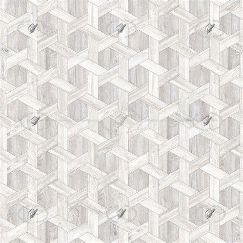 White parquet geometric patterns texture seamless 20946