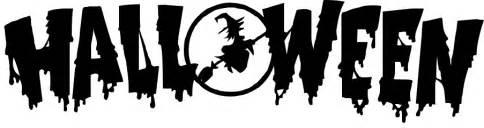 clipart images halloween headline holiday halloween spooky words