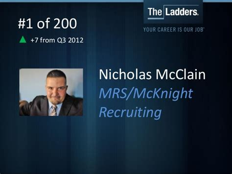 foto de TheLadders Top 200 Agency Recruiters of Q4 2012
