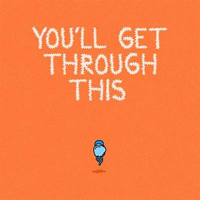 Encouragement Hang There Through Gifs Giphy Funny