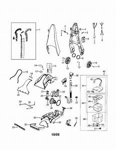 Bissell Upright Deep Cleaner Parts