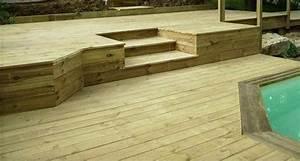 Lame Terrasse Classe 4 : lames pin autoclav classe 4 vert et marron hanottebois ~ Farleysfitness.com Idées de Décoration
