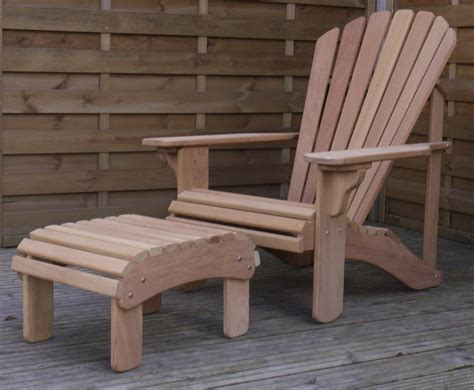 adirondack table and chairs classic adirondack chair in oak hand made in the uk by