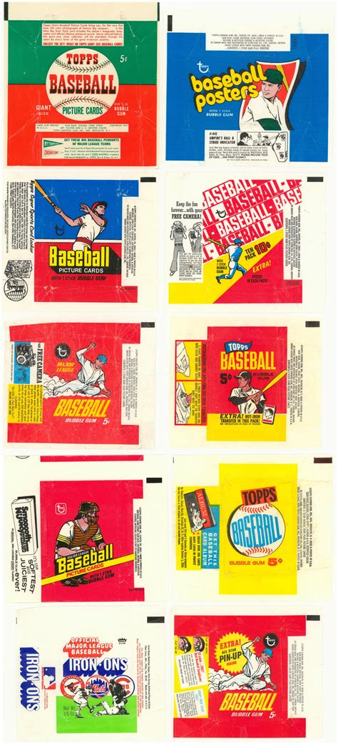 Lot Detail  1950s1970s Topps And Assorted Brands Multi