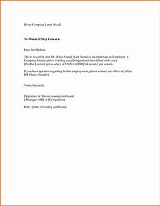 Certificate of employment samplereference letters words for Certification of employment letter template