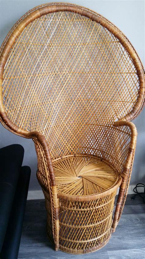 fauteuil emmanuelle pas cher chaise emmanuelle vintage pas cher luckyfind