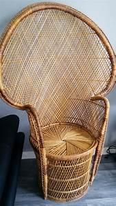 Fauteuil Vintage Pas Cher : chaise emmanuelle vintage pas cher luckyfind ~ Teatrodelosmanantiales.com Idées de Décoration