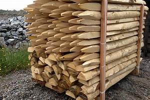 Piquet De Cloture Bois Acacia : piquet cloture ~ Dailycaller-alerts.com Idées de Décoration
