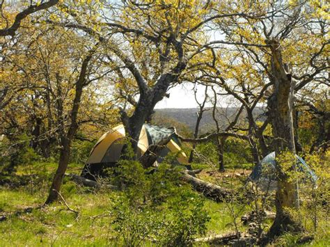 lost maples state natural area primitive campsites hike