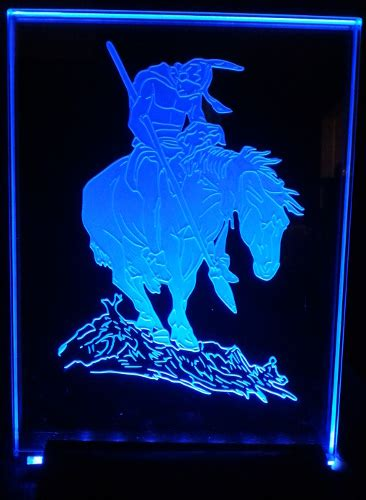 sandcarved etched acrylic glass displays