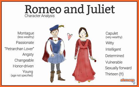 romeo  juliet characteristics