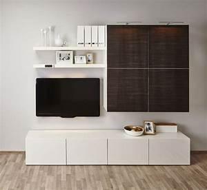 Besta Tv Schrank : ikea besta regal je nach geschmack mit anderem mobiliar kombinieren besta ~ Watch28wear.com Haus und Dekorationen