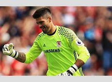 Victor Valdes missed out on Middlesbrough win after injury