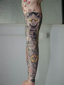 Tatouage Japonais Bras : bras entier tatouage japonais lion 39 l tatouage ~ Melissatoandfro.com Idées de Décoration