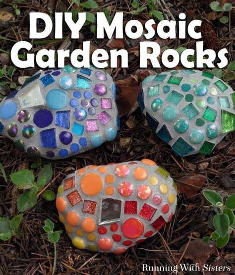 mosaic garden rocks    garden mosaics garden