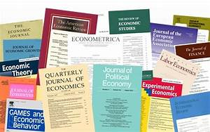 Forthcoming publications in top five journals by BGSE ...