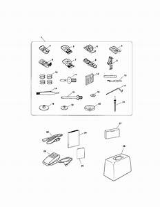 Shop For Kenmore Sewing Machine Repair Parts For Model