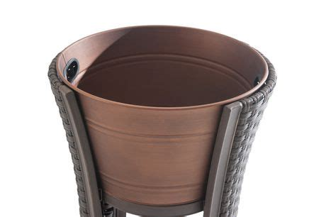 beverage tub canada sunjoy antigua beverage tub tray and stand outdoor d 233 cor