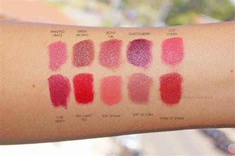 charlotte tilbury matte revolution luminous modern matte lipsticks  beauty  book