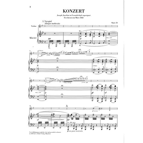 0014117541 piano concerto no g minor bruch max concerto no 1 in g minor op 26 for violin