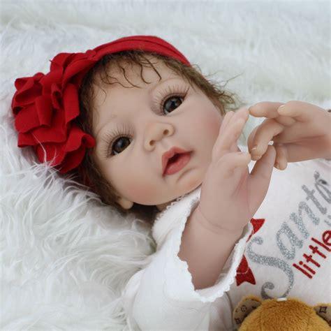 African American Reborn Baby Girl Doll Full Vinyl Newborn
