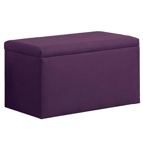 purple bedroom storage bench dreamfurniture upholstered storage bench in micro