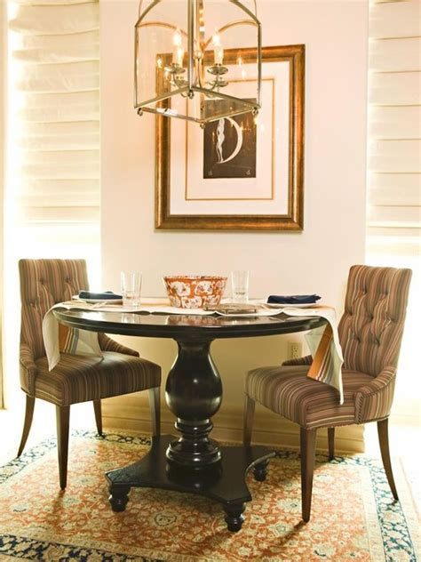 Pedestal Tables & their Chic Chair Counterparts