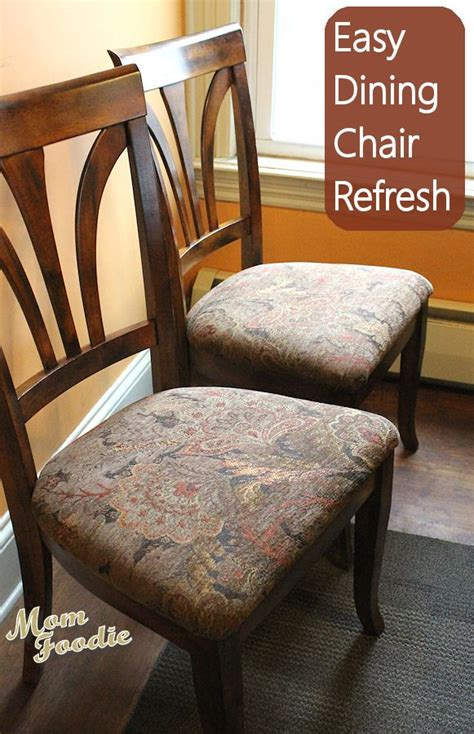 reupholster dining chairs easy diy project happenings