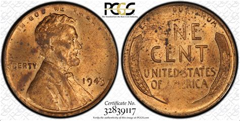 Bronze 1943 Lincoln Cent Sells For Over One Million
