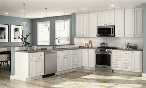 white kitchen base cabinets hallmark base cabinets in arctic white kitchen the