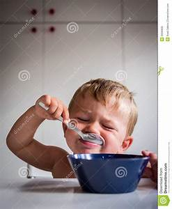 Boy Eating Breakfast Royalty Free Stock Photo - Image ...
