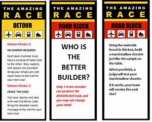 amazing race 11th birthday party profoundly ordinary With the amazing race clue template