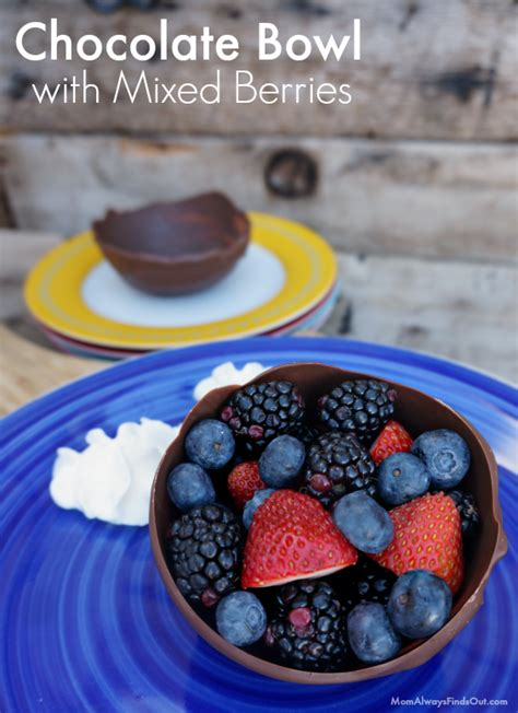 chocolate and fruit desserts fruit desserts chocolate berry bowls