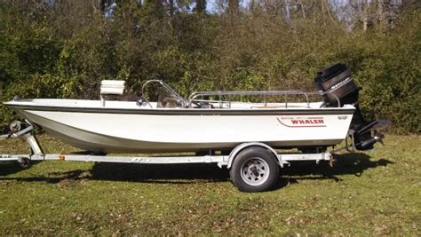 Boston Whaler Inflatable Boats Sale by 2004 Tracker Boats Grizzly 1648 L Aw Jon In Savanna