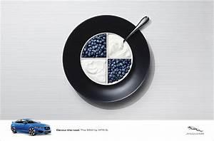 Jaguar Devours German Rivals' Logos with Creative Print ...