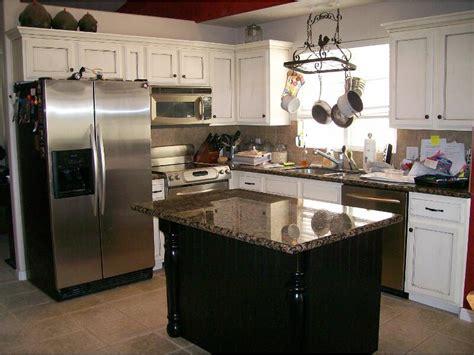 white kitchen with black island homeofficedecoration kitchen white cabinets black island