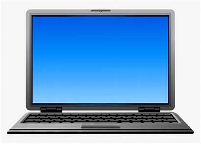 Computer Clip Clipart Laptop Transparent Gascon Joseph