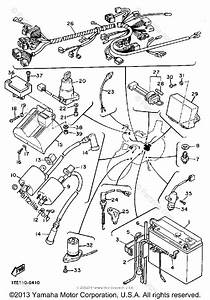 Yamaha Motorcycle 1986 Oem Parts Diagram For Electrical