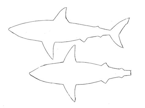 shark template printable shark template cake ideas and designs