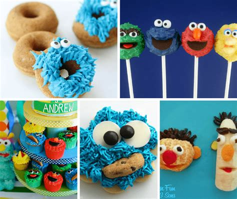 The famous can you tell me how to get to sesame street theme song. Roundup of Sesame Street food ideas for your kid's party.