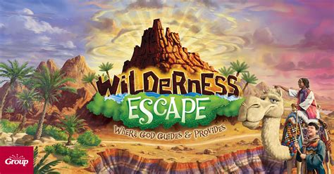 wilderness escape holy land adventure vbs  vacation