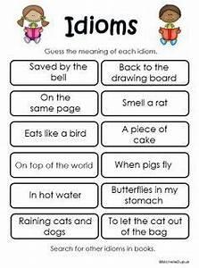 4th Grade On Pinterest 990 Pins Idioms Figurative