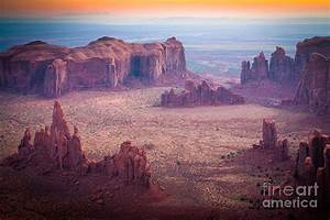 Monument Valley From Hunts Mesa Photograph by Inge Johnsson